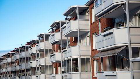 Obos-leiligheter på Lambertseter i Oslo.