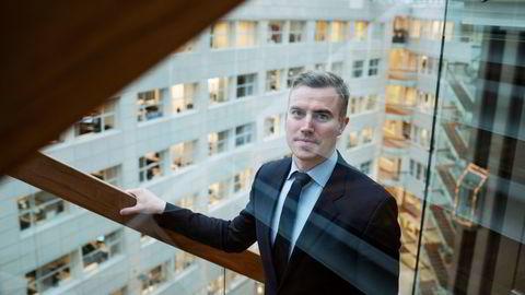 Sebastian Martens Harung, gründer og daglig leder i Kameo. Bedriften driver med lånebasert folkefinansiering, og er i kraftig vekst.