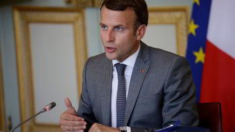 Frankrikes president Emmanuel Macron skal være en av statslederne angrepet med spionverktøyet
