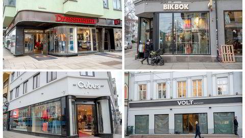 Kleskjeden Varner sine butikker i Bogstadveien.