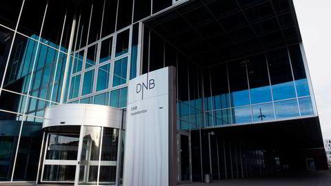 DNB sitt hovedkontor i Bjørvika i Oslo