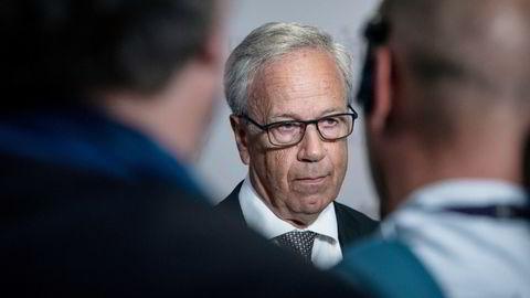 Sentralbanksjef Øystein Olsen lover renteøkning  de neste årene.