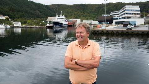 Stig Remøy ser store muligheter i det lille krepsdyret krill