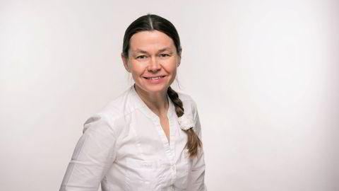 Anja Nilsen kjenner at det klør i fingrene etter å sette i gang med kreative aktiviteter.