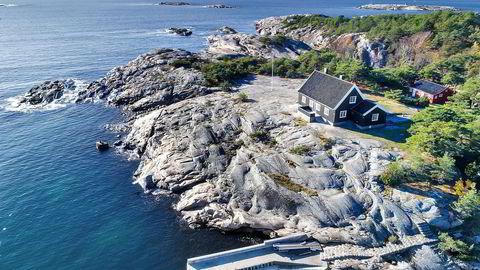 Den idylliske eiendommen på Hankø ble solgt for 35 millioner kroner, som også var prisantydning.