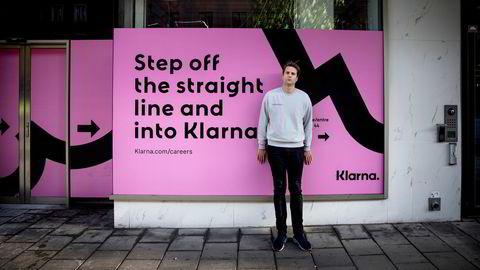 Sebastian Siemiatkowski, gründer og toppsjef i Klarna sikter mot børsnotering av det som kan bli den største siden Spotify.