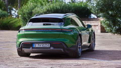 Bakenden på Cross Turismo kan tenne enda flere nordmenn til å kjøpe Porsche Taycan.