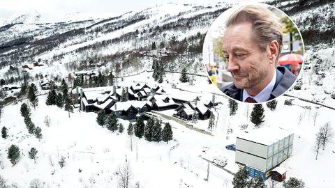 Kjell Inge Røkkes hyttetun på Stølen i Oppdal.