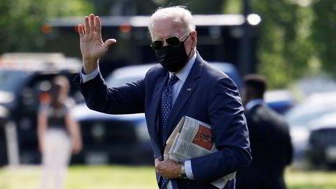 – Det tar livet av folk. Den eneste pandemien vi har, er blant dem som ikke er vaksinert, sa Joe Biden til journalister i Det hvite hus fredag.