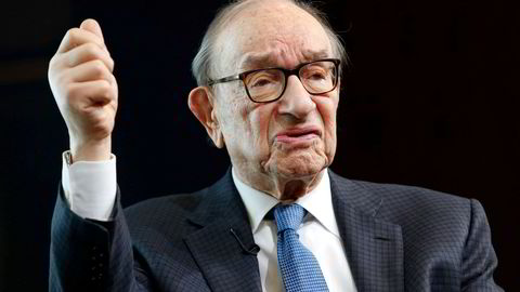 Han var sentralbanksjef i USA fra 1987 til 2006. Hva heter han?