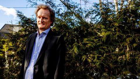 Harmonychain-gründer og styreleder Bjørn Zachrisson.