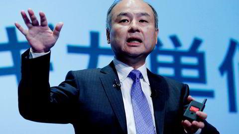 Det japanske teknologikonglomeratet Softbank, som ledes av Masayoshi Son, er største aksjonær i Kahoot og laster nå opp ytterligere i selskapet.