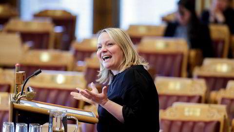 Mona Fagerås ble lørdag gjenvalgt som SVs førstekandidat i Nordland SV.