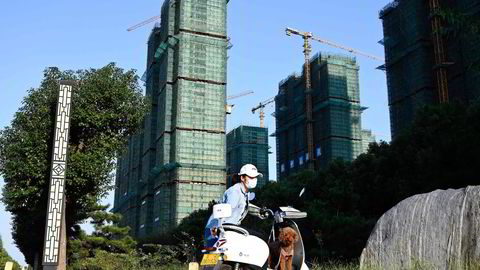 The world's most indebted real estate developer, Evergrande, is on the verge of default.