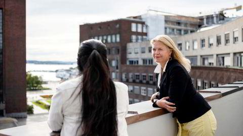 BankID-offeret Benedicte (til venstre) ligger an til å få en ny sjanse i rettssystemet. Advokat Cathrine Hambro har jobbet for å få gjenopptatt saken.