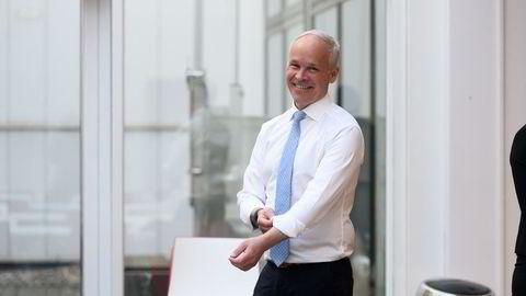 Jan Tore Sanner, (H) tror flere unge vil jobbe når de får lavere skatt.
