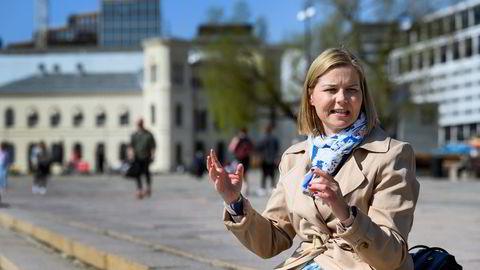 Venstres leder Guri Melby avfeier Listhaug-utspill om smitte blant innvandrere.