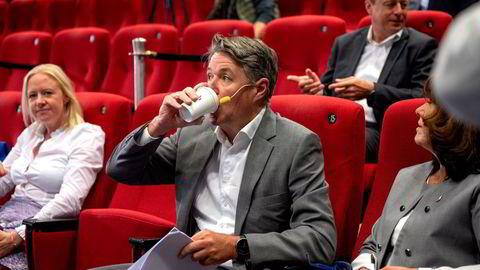 Geir Karlsen har tatt rollen både som konsernsjef og finansdirektør i en periode, mens selskapet leter etter en etterfølger som finansdirektør. Nå kommer første regnskap etter refinansieringen i mai.