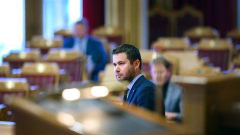 Geir Pollestad er fiskeripolitisk talsmann i Senterpartiet, og leder av Stortingets næringskomité.