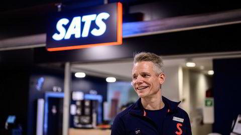 Sats-sjef Sondre Gravir, her fotografert på Sats Storo.