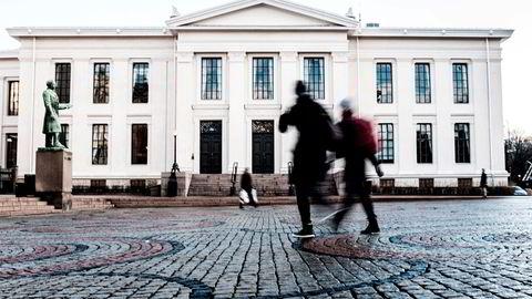 Karakterpress er det som driver mange til å stå i og akseptere de vanskelige, krevende og ubehagelige stundene man møter som student, skriver Nasjida Noorestany, student ved Juridisk fakultet. Her fra Universitetet i Oslo.