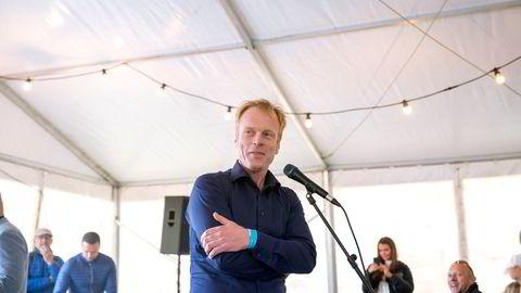 Bjørn Dæhlie var i helgen til stede på næringslivstreff og Kringkastingsorkesterets konsert i Bø sammen med flere av kommunens nye formuende tilflyttere.