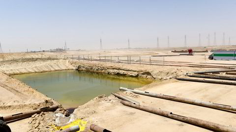 Opec and its partners outside of the cartel met virtually for preliminary gatherings on Thursday, but failed to come to an agreement on production levels. Pictured: The Burgan oilfield in Kuwait.