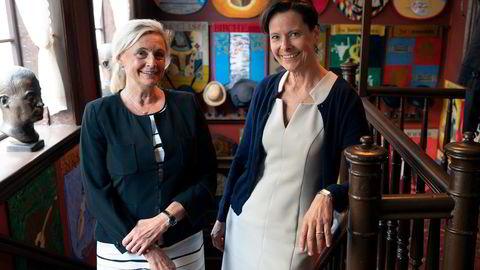 Turid E. Solvang og Alexandra Morris er initiativtagere bak «Kvinner i finans charter».