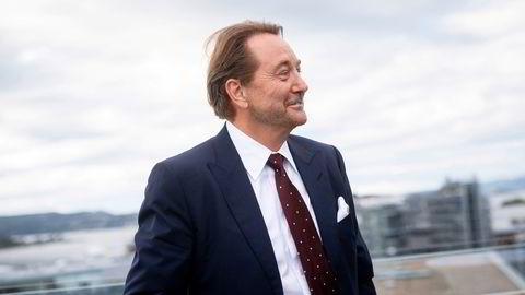 Kjell Inge Røkke kan smile etter at Aker Solutions inngår milliardavtale med Equinor.