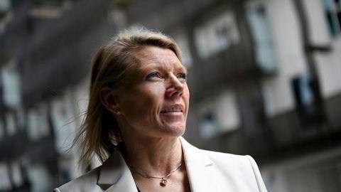 Konkurransetilsynet forlenger behandlingen av DNBs oppkjøp av Sbanken. Her konsernsjef Kjerstin Braathen i DNB.