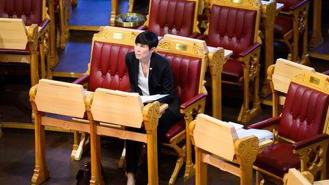 Utenriksminister Søreide svarte Stortinget om saken onsdag.