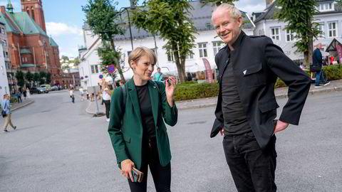 De siste meningsmålingene peker mot en rødgrønn regjering med Ap, Sp, SV og enten Rødt eller MDG. Kari Elisabeth Kaski og Lars Haltbrekken er stortingsrepresentanter og SVs 1.-kandidater i henholdsvis Oslo og Sør-Trøndelag valgkrets.