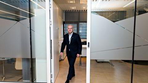 Anders Opedal presenterer Equinors første strategioppdatering siden han tok over som konsernsjef i november i fjor.