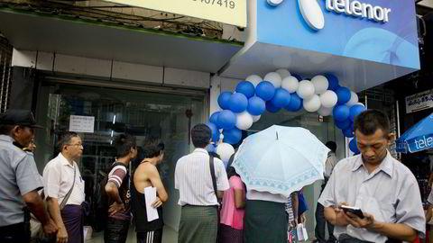 Telenor har vært i Myanmar siden 2013, og har per 2021 nær 18 millioner brukere i det sørasiatiske landet.