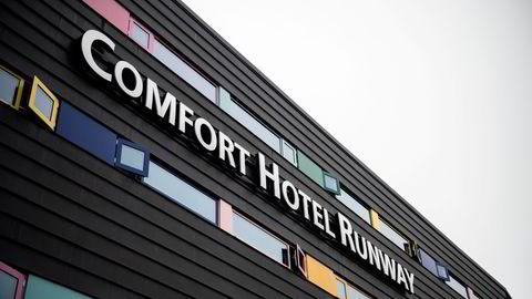 Comfort Hotel Runway er et av karantenehotellene ved Gardermoen for innreisende til Norge.