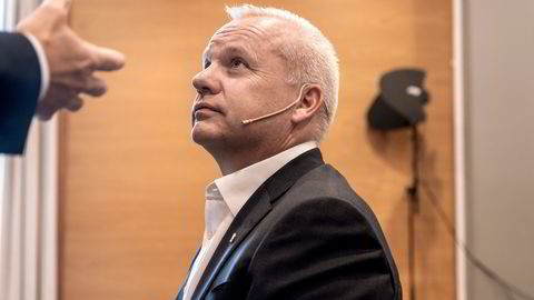 Konsernsjef Anders Opedal lanserer planene for et storstilt spleiselag for grønn omstilling.