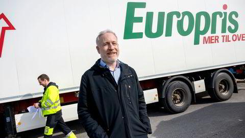 Europris-sjef Espen Eldal i Fredrikstad.