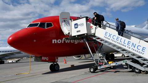 225.509 passasjerer fløy med Norwegian i juni.