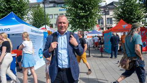 Oljefondssjef Nicolai Tangen deltok nylig på Arendalsuka. Det er første gang at sjefen for Oljefondet har vært aktiv der.