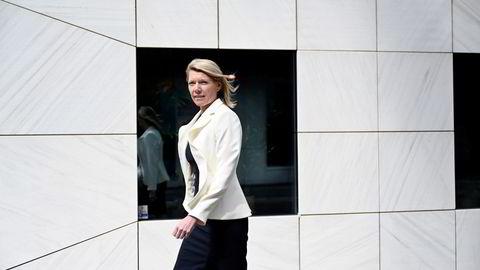Konsernsjef Kjerstin Braathen i DNB får kraftig kritikk for måten banken har jobbet mot hvitvasking.