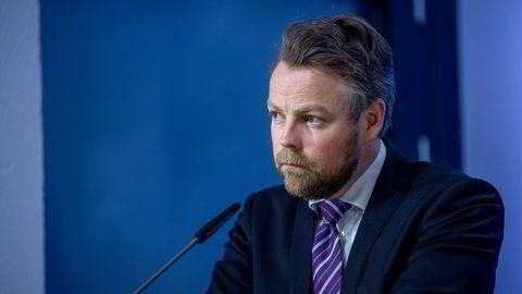 Arbeidsminister Torbjørn Røe Isaksen grep inn og stanset kommunestreiken i Oslo.