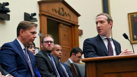 Facebooks sjef, grunnlegger og enerådende Mark Zuckerberg ba i begynnelsen av 2019 verdens myndigheter om å presentere forslag til reguleringer av selskapet. Samme år vitnet han i høringer i Kongressen.