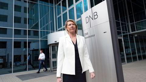 DNB har fått kraftig kritikk fra Finanstilsynet. Her ved konsernsjef Kjerstin Braathen.