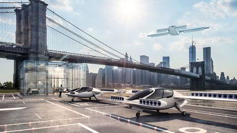 De nye flyene fra det tyske gründerfirmaet Lillum skal kunne lande vertikalt, noe som åpner for helt nye muligheter i bynære områder.