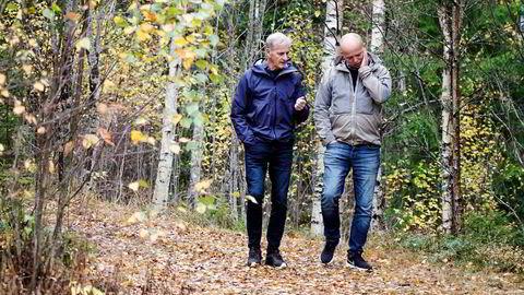 Ap-leder Jonas Gahr Støre og Sp-leder Trygve Slagsvold Vedum bruker helgen i Hurdal på å finpusse den nye regjeringserklæringen. Etter alt å dømme får Norge en ny regjering neste uke. Og den får milliard-utgifter i fanget.