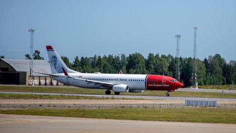 Norwegian økte antall passasjerer.