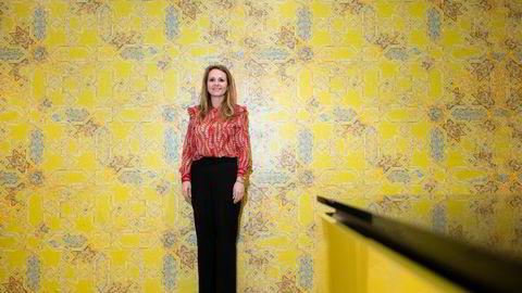 Vil ikke øke skatten for de rike: Linda Hofstad Helleland, her på Høyres landsmøte i 2019.
