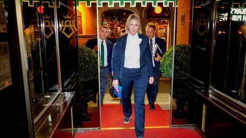 Frp-leder Sylvi Listhaug sier hun allerede i morgen starter å bygge opp partiet mot neste valg.