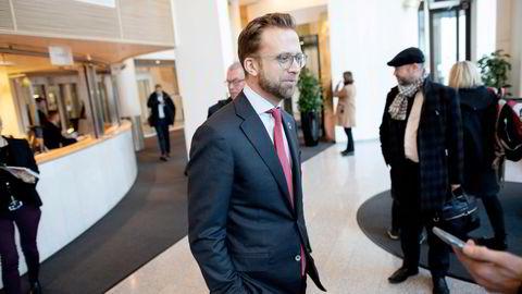 Statsråd Nikolai Astrup mener skattesystemet må virke omfordelende, men skal også legge til rette for at det lønner seg å investere i morgendagens bedrifter,