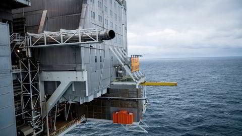 Troll-feltet er det største gassfunnet i Nordsjøen og regnes som et av verdens største gassfelt.